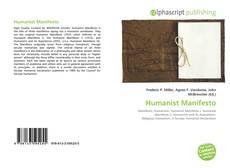 Buchcover von Humanist Manifesto
