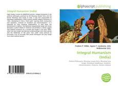 Buchcover von Integral Humanism (India)