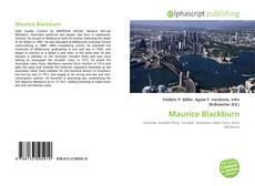 Buchcover von Maurice Blackburn