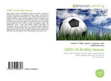 2009–10 Al-Ahly Season kitap kapağı