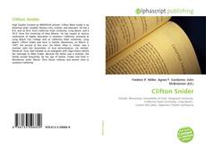 Bookcover of Clifton Snider