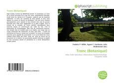 Buchcover von Tronc (Botanique)