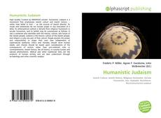 Humanistic Judaism的封面