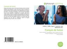 Capa do livro de Français de Suisse