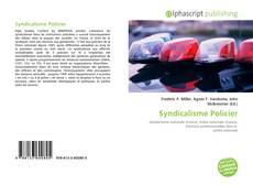 Bookcover of Syndicalisme Policier