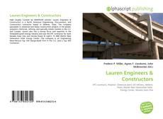 Bookcover of Lauren Engineers