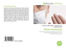 Bookcover of Adrian Kantrowitz