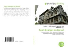 Bookcover of Saint-Georges-du-Mesnil