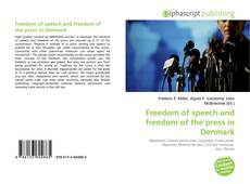 Обложка Freedom of speech and freedom of the press in Denmark