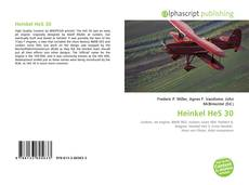 Bookcover of Heinkel HeS 30