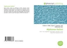 Обложка Alphonse Halimi