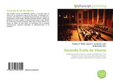 Couverture de Seconde Ecole de Vienne