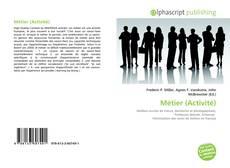 Capa do livro de Métier (Activité)