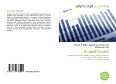 Обложка Annual Report