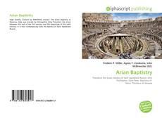 Buchcover von Arian Baptistry