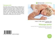 Bookcover of Massage parlor