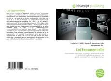 Bookcover of Loi Exponentielle