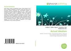 Buchcover von Actual Idealism
