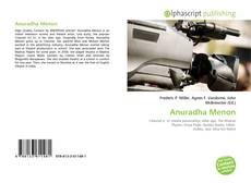 Bookcover of Anuradha Menon