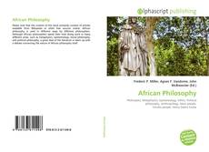 Couverture de African Philosophy