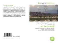 Couverture de Lois de Kirchhoff