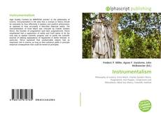 Bookcover of Instrumentalism
