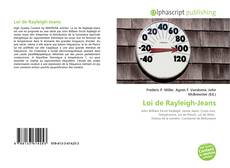 Bookcover of Loi de Rayleigh-Jeans