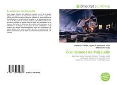 Buchcover von Écoulement de Poiseuille