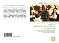 Portada del libro de ARD International Music Competition