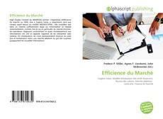 Efficience du Marché的封面
