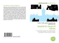 Bookcover of Joscelin III, Count of Edessa