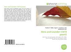 Copertina di Hero and Leander (1819 poem)