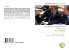 Capa do livro de Efficacité