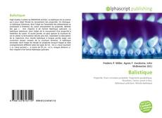 Buchcover von Balistique