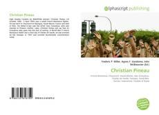 Capa do livro de Christian Pineau