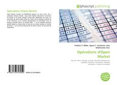 Bookcover of Opérations d'Open Market