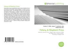 Capa do livro de Felony