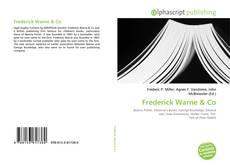 Buchcover von Frederick Warne