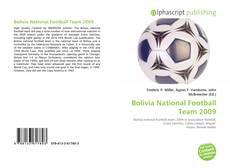 Portada del libro de Bolivia National Football Team 2009