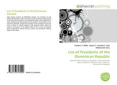 List of Presidents of the Dominican Republic的封面