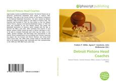 Bookcover of Detroit Pistons Head Coaches