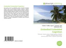 Couverture de Embodied Embedded Cognition