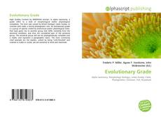 Copertina di Evolutionary Grade