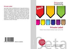 Bookcover of Private Label