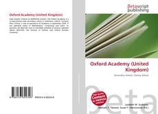 Capa do livro de Oxford Academy (United Kingdom)
