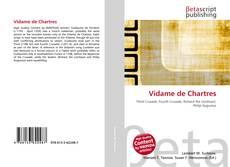 Copertina di Vidame de Chartres