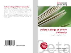 Couverture de Oxford College of Emory University