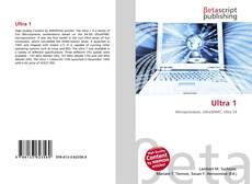 Bookcover of Ultra 1