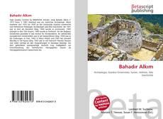 Bahadır Alkım kitap kapağı