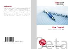 Alex Carmel的封面